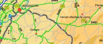 Chantiers et état des routes (inforoute 25)