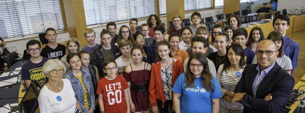 Le Conseil départemental des jeunes 2016-2018 tire sa révére...