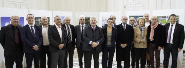 Huit sites réunis sous la bannière de l'Unesco