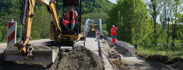 Routes départementales : les chantiers jusqu'à fin octobre