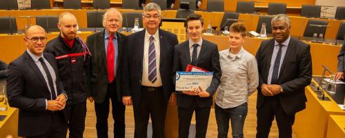 Trois jeunes lauréats engagés et dévoués