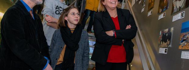 Musée Courbet : exposition des œuvres des collégiens du Doub...