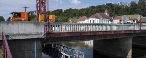Pont de L'Isle-sur-le-Doubs : Une première en France !
