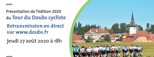 Présentation de l'édition 2020 du Tour du Doubs cycliste (en...