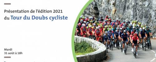Présentation de l'édition 2021 du Tour du Doubs cycliste