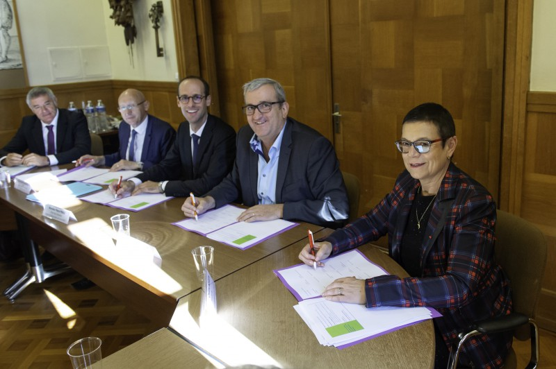 Morteau : signature d'un Contrat local de santé